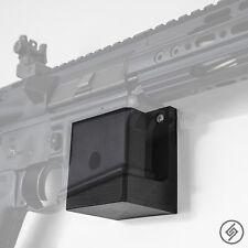 AR 15 Wall Mount (R/L) - Low Profile Gun Rack - Rifle Wall Hanger - Display Hook