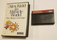 Alex Kidd in Miracle World SMS (Sega Master) w/case Tested & Working
