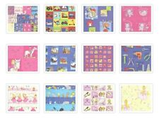 ASSORTED PACK OF CHILDRENS PAPERS - 6 X 6 SAMPLE PACK 1 OF EACH DESIGN 11 SHEETS