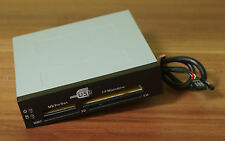 "3,5"" ROHS Hi-Speed Certified USB CARD READER MMC MS/PRO/DUO CF SD etc. TOP! (ff4)"
