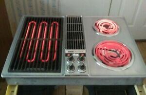 "Jenn-Air Stainless 30"" Electric Downdraft Drop-In Cooktop Jenn Air C201 Lava"