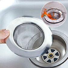 Stainless Steel Kitchen Sewer Sink Strainer Filter Plug Waste Clean