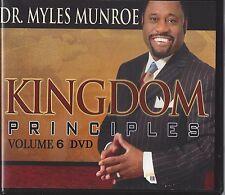 Kingdom Principles Kingdom Concept Of Kings - Vol 6 - 6 Dvds Myles Munroe