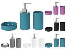 New Bathroom Bath Toilet Accessory Set Lotion Dispenser, Soap Dish and Tumbler