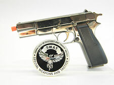 Metal gun scale model - Scale 1:2 Browning HP1935 miniature gun W