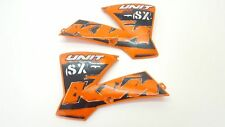 Radiator Shrouds KTM 50SX 50 Pro Senior SX Spoiler Guard Side Covers Plastic 200