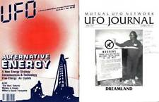 UFO JOURNAL AND UFO FORUM 1991-93 LOT OF 2 ISSUES