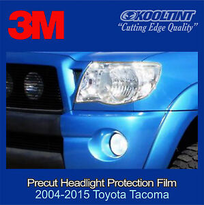 Headlight Protection Film by 3M for a 2005-2011 Toyota Tacoma