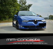 CUP Spoilerlippe für Alfa Romeo 156 GTA Frontspoiler Spoilerschwert Frontlippe