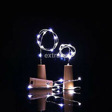 15 Led Starry Silver Wire Light String Cork Shaped LED Bottle Wine Stopper Lamp