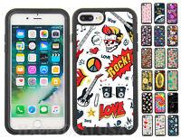 For Apple iPhone 7 Plus | 8 Plus Shockproof Fashion Design Armor Dual Cover Case