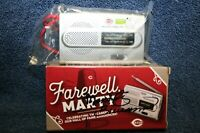 MARTY BRENNAMAN AUTOGRAPHED SIGNED BOX AM/FM RADIO CINCINNATI REDS ANNOUNCER