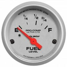 "Auto Meter 4315 2-1/16"" Ultra-Lite Electric Fuel Level Gauge, 73-10 Ohm"