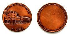 Medaglia Cassa di Risparmio Di Bra Bronzo Diametro cm 3,5 Peso g 15