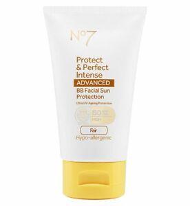 No7 Protect & Perfect Intense Advanced BB Facial Sun Protection FAIR SPF50 50ml