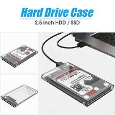 ORICO 2.5'' 2TB USB 3.0 transparent externe Festplatte Gehäuse box Memory SATA