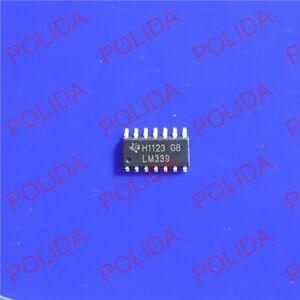 20PCS Comparator IC TI SOP-14 LM339D LM339DR LM339DRE4 LM339DRG4 LM339