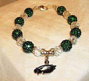 Philadelphia Eagles ~ Bracelet ~ Jewelry~Logo Charm~ Great Christmas Gift Idea!!