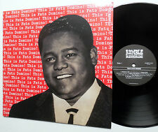 FATS DOMINO Lp This Is.. RUMBLE 2012 UK Reissue R&B Pop ROCKABILLY MINT- sm149