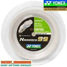 NEW YONEX NANOGY 99 200M COIL BADMINTON RACKET STRING WHITE COLOUR