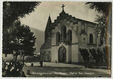"""La Chiesa di Spormaggiore. Titolo originale al recto: """" Spormaggiore m. 600 - La"""