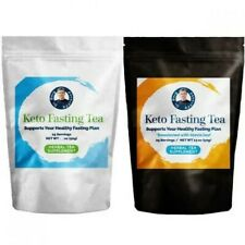 Dr Berg Approved Keto Fasting Tea Combo (Sweetened And Non Sweetened) Herbal