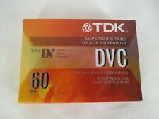 TDK Mini DV Digital Video Cassette 60 Min