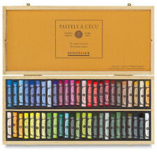 Sennelier Soft Pastels - Professional Artists Pastels - 50 Wooden Box Classic