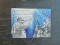 2016 VATICAN CITY POLAND JOINT ISSUE WORLD YOUTH DAY MINT STAMP MINI SHEET MNH