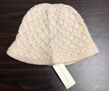 NEW ANN TAYLOR HAT, WOOL, WHITE, KNIT