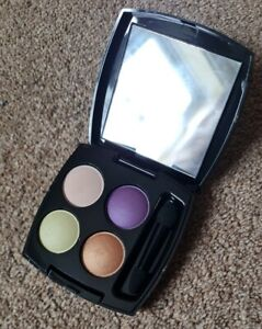 Avon True Colour Eyeshadow Palette Quad 4 Electric Purple Neutral Smokey Ltd Ed