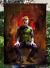 The Dark Knight Enterbay Joker Poster Wall Scroll Home Decor