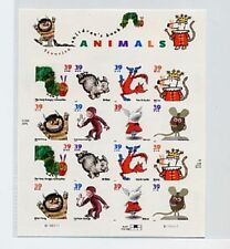US Scott 3987-3994 2006 Favorite Children's Book Animals Sheet 16 39c Stamps MHN
