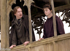 PHOTO HARRY POTTER - DANIEL RADCLIFFE ET  DAVID THEWLIS  (P21) FORMAT 20X27 CM