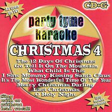 Party Tyme Karaoke - Christmas 4 8+8-song CD+G
