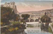 Somerset Postcard - Bath - Old Pulteney Bridge and Weir   2704