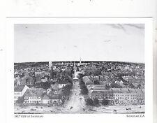 """*Postcard-""""1837 View/Savannah, GA.""""(S Bull St) *Savannah Georgia (#123)"""