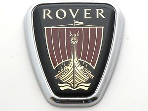 Genuine New ROVER C PILLAR BADGE Side Emblem For 75 1999-2003 & 45 2000-2005 CDT