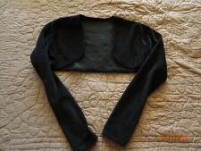 Boléro noir en velours Taille 38