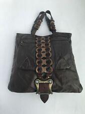 Jas M.B.London Unisex Shopper in Dark Brown Leather