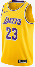 Original nike nba lebron james lakers Swingman camiseta, talla M (44)