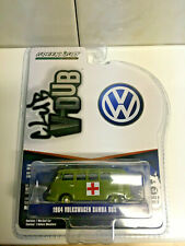 Greenlight Club V-Dub 1964 Volkswagen Samba Bus ARMY Ambulance NIP