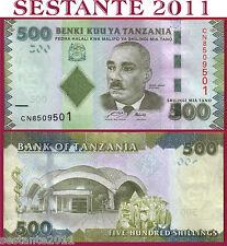 TANZANIA    -    500 SHILLINGS SHILINGI nd  2010     -    P   40   -   FDS / UNC
