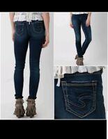 Silver Suki High Rise Super Skinny Jeans 27 X 31