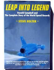 Donald Campbell Water Speed Record, Bluebird K7 Leap into Legend by Steve Holter