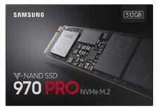 SAMSUNG 970 PRO SSD 512GB M.2 2280 NVMe PCIe 3.0 TLC 512G Internal MZ-V7P512BW