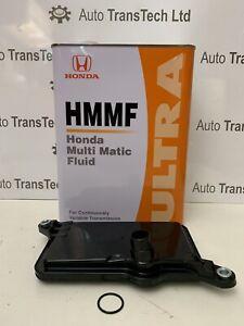 genuine honda civic cvt automatic gearbox oil filter ultra multi matic fluid