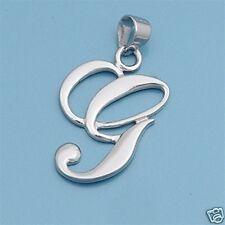 Alphabet Letter Pendants Sterling Silver 925 Best Price Jewelry Gift Initial G