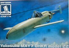 Brengun 1/72 BRP72034 Yokosuka MXY-7 Ohka (model 22) Model kit