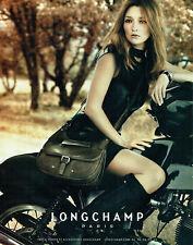 Publicité Advertising 038  2011   sac Longchamp   & Kate Moss *